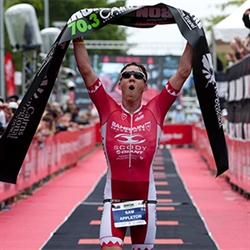 Ironman 70.3 Cairns Champion