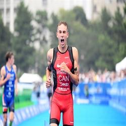 Tyler Mislawchuk - Winner, 2019 Tokyo World Triathlon Olympic Qualification Event