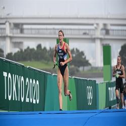 Cassandre Beaugrand - Winner, Tokyo Test Event Mixed Relay