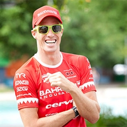 James Cunnama - Ironman 70.3 Vietnam Champion